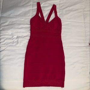 Hot Miami styles red bodycon dress